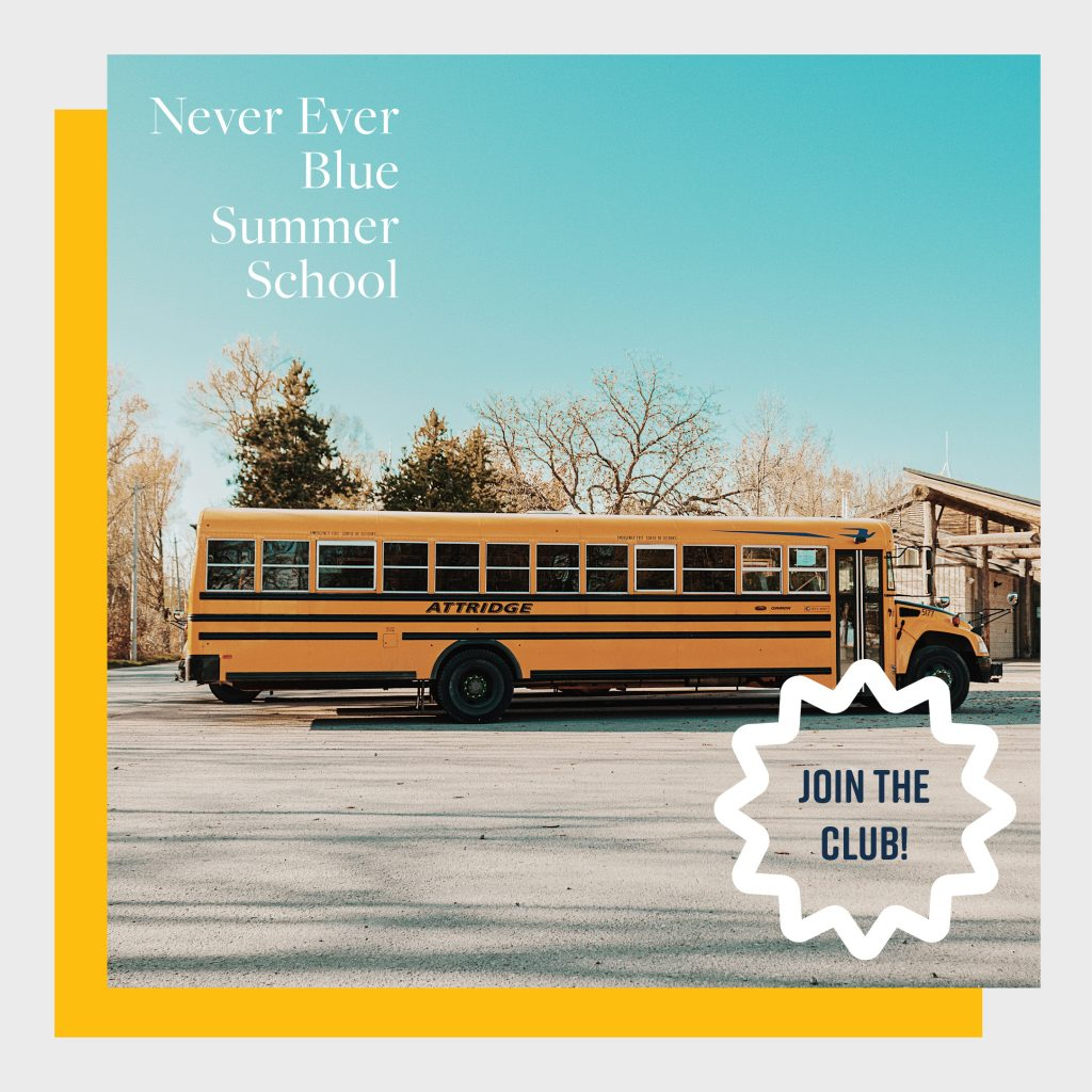 Never Ever Blue Summer School